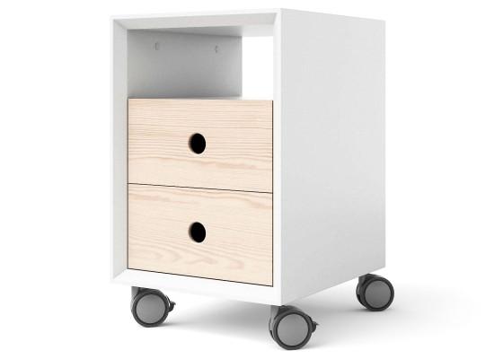 Тумба с ящиками на колесах