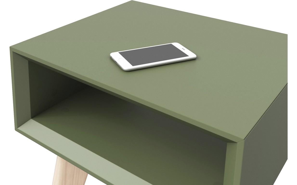 Прикроватный столик высокий