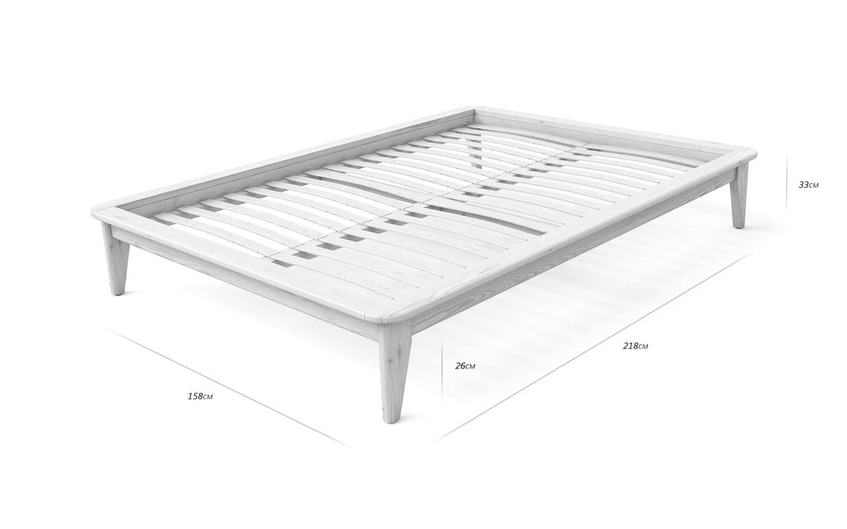 Кровать двуспальная-мини 140