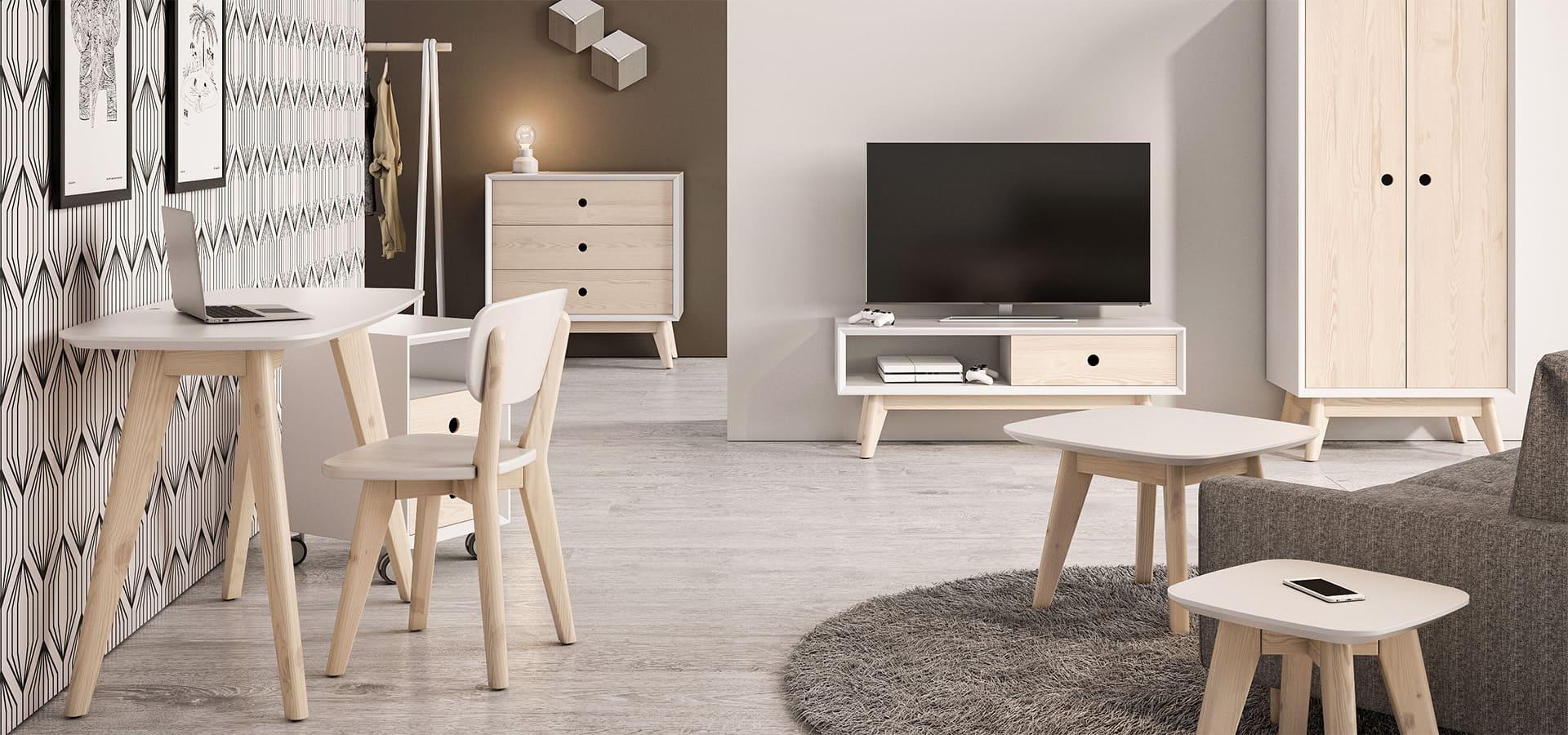 Мебель в скандинавском стиле, Купить эко мебель в Москве ...