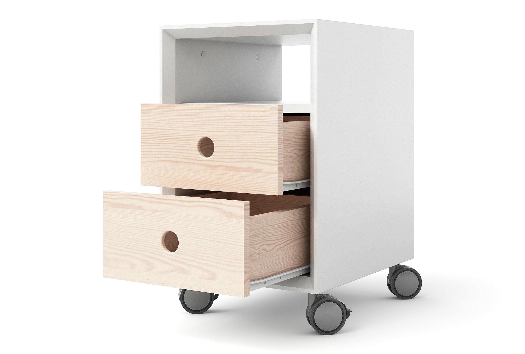 Выдвижные ящики из массива дерева